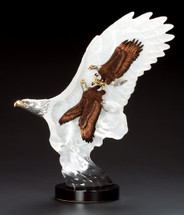 """Leading The Way"" Eagle Sculpture"