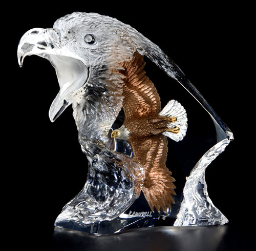 Journey Eagle Sculpture by Kitty Cantrell