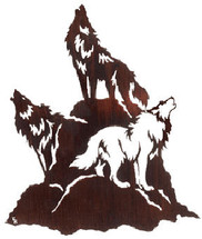 """Night Chorus"" Wolf Wall Art"