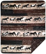 Horses Denali Microplush Throw
