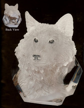 """Devotion"" Wolf Sculpture by Kitty Cantrell"