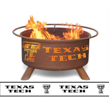 Patina Texas Tech Collegiate Portable Outdoor Fire Pit