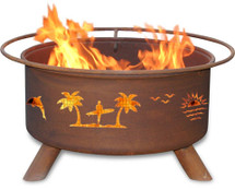 "Patina ""Pacific Coast"" Outdoor Fire Pit"