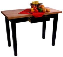 """Le Classique  30"""" Wide Butcher Block Table"""