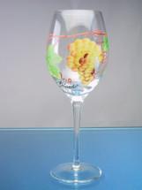 Dionysus White Zinfandel Wine Glasses Set/4
