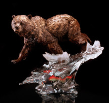 Starlite Solitary Hunter Sculpture