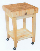 Boos Block – Gourmet Block Cart (Model GB)