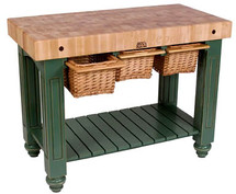 John Boos Gathering Block III - Butcher Block Table