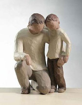 Father and Son - Willow Tree Figurine