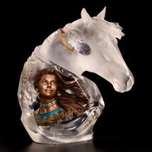 """""""Running Wind"""" Indian & Horse Sculpture"""