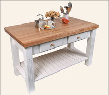 John Boos Grazzi Kitchen Island Table