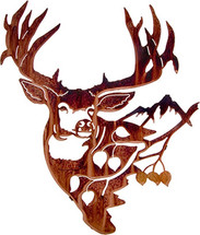 Mule Deer With Aspen Metal Wall Art