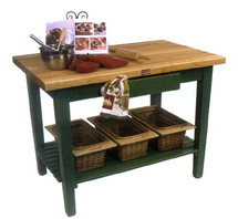 "John Boos Classic Country Work Table - 30"" Wide"