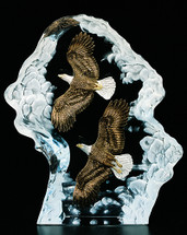 Achievement Eagle Sculpture by Kitty Cantrell