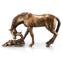 Mare and Foal Sculpture