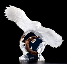 """Eagle Spirit"" Sculpture by Christopher Pardell"