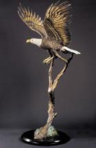 "Starlite Originals ""Free Spirit"" Eagle Sculpture by Kitty Cantrell"