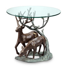 Deer Pair End Table by SPI