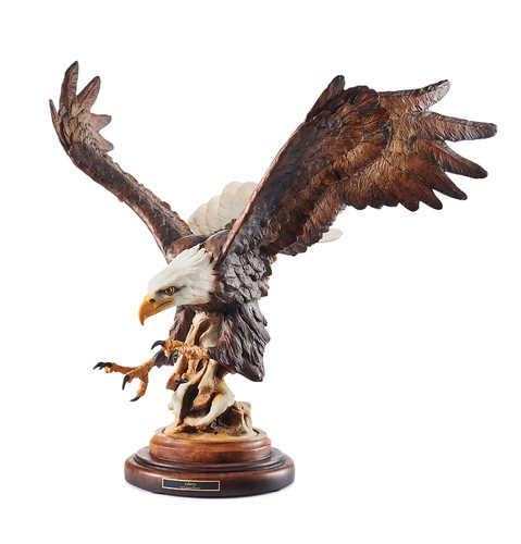 Liberty Eagle Sculpture by Stephen Herrero