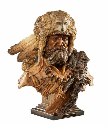 Legend – Mountain Man Sculpture by Stephen Herrero