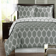 Brooksfield 100% Combed Cotton Duvet Cover Set