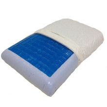 Cool Gel Memory Foam Pillow by Royal Tradition (each)