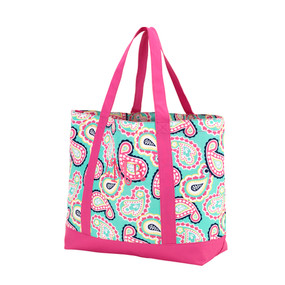 Monogrammed PaisleyTote Bag