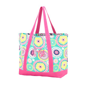 Monogrammed Piper Tote Bag