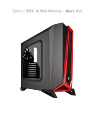 Corsair SPEC ALPHA Window - Black Red 1