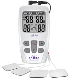 3-In-1 COMBO Electrotherapy Machine with 22 Programs