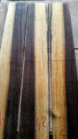 two tone wenge bass fingerboard 3.75 wide
