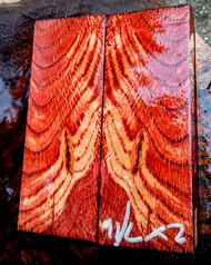 oak cluster natural color burl salvage red stabilized scales 2