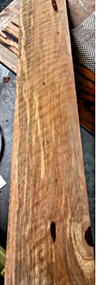 marblewood curly extended range bass fingerboard B