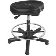 Roc-n-Soc LSGX-FR Throne Complete w/Footrest, Black