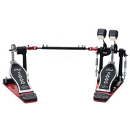 DW 5002AD4 Accelerator Drive Double Bass Drum Pedal with Case
