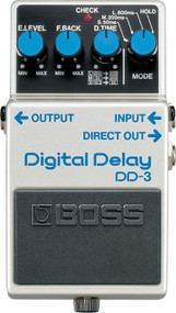 Boss DD-3 Digital Delay Pedal