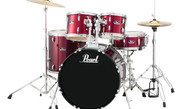 PearlL RS525SC-91 5PC Roadshow Complete Kit Wine Red