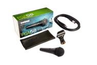 Shure PGA58XLR Vocal Microphone w/cable