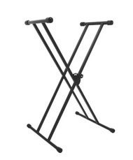 On Stage KS7191 Classic Double-X Keyboard Stand