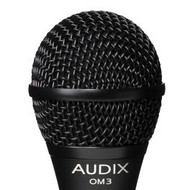 Audix OM3S Dynamic Vocal Microphone w/Switch