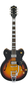 Gretsch G2622T Streamliner Center Block with Bigsby Aged Brooklyn Burst