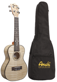 AMAHI UK550 FLAME MAPLE CONCERT W/BAG