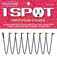 Truetone MC8 1 Spot 8 Multi-Plug Cable Daisy Chain