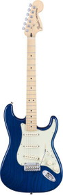 Fender Deluxe Stratocaster Sapphire Blue Transparent with Bag
