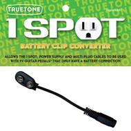 Truetone CBAT 1 Spot Battery Clip Converter