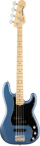 Fender American Performer Precision Bass®, Maple Fingerboard, Satin Lake Placid Blue, w/bag