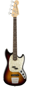 Fender  American Performer Mustang® Bass, 3-Color Sunburst w/bag