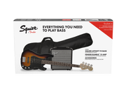 Squier Affinity Series™ Precision Bass® PJ Pack, Brown