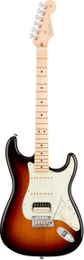 Fender American Pro Stratocaster® HSS ShawBucker™, Maple Fingerboard, 3-Color Sunburst