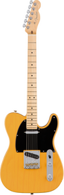 Fender American Pro Telecaster®, Maple Fingerboard, Butterscotch Blond